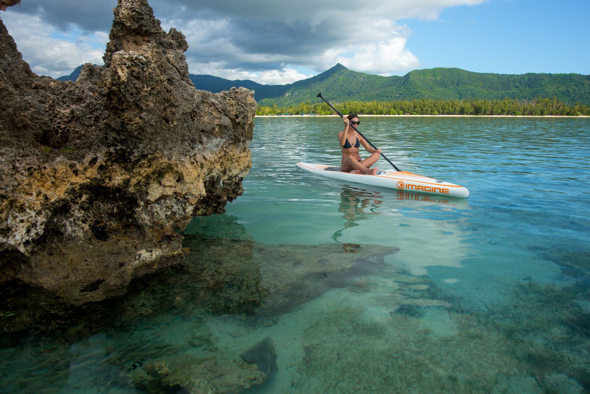 Stand Up Paddle Experience at Mont Choisy