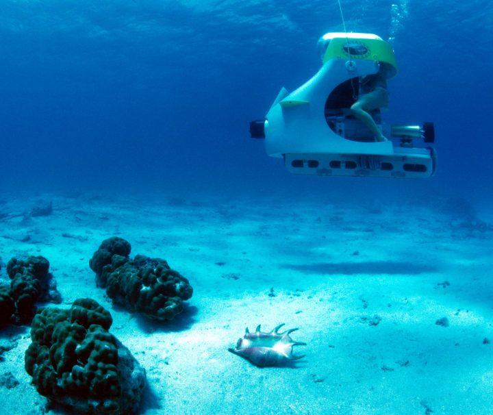 Conduisez votre sous marin ile maurice