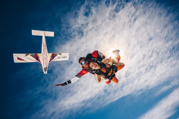 Skydiving Adrenaline Pumping Adventure