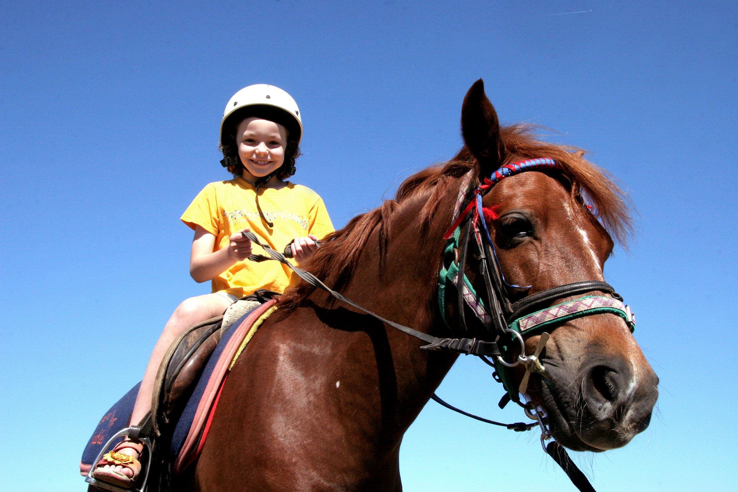 Pony Ride for Children at Domaine de l'Etoile