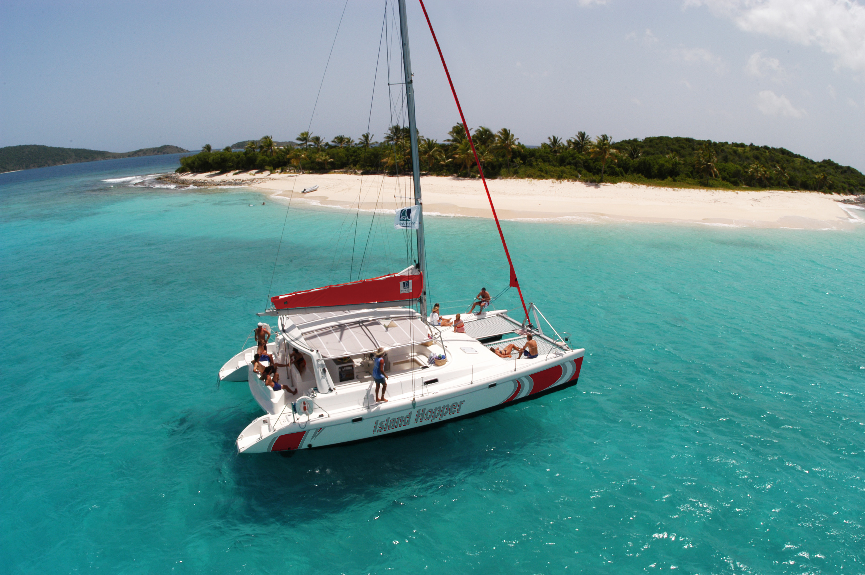 Catamaran Cruise to Ile aux Cerfs