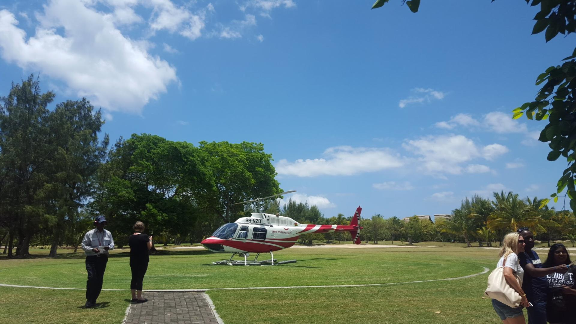 Inter-hotel Transfer by Helicopter